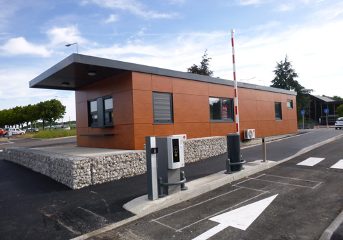 Module RBT pour l'accueil parking de la gare TGV du Creusot