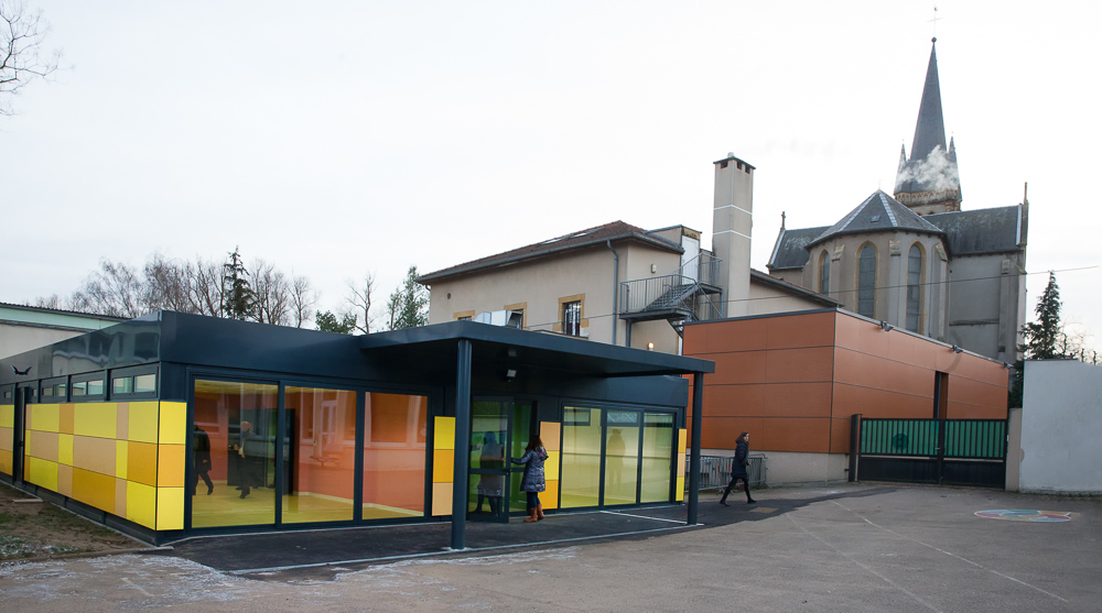 Création d\'un périscolaire en modulaire à Marly en Moselle - Euro ...