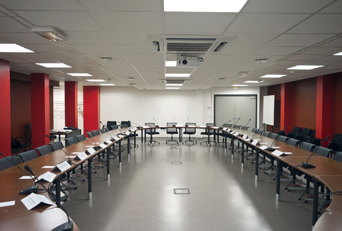 Salle de réunion CHU de Caen