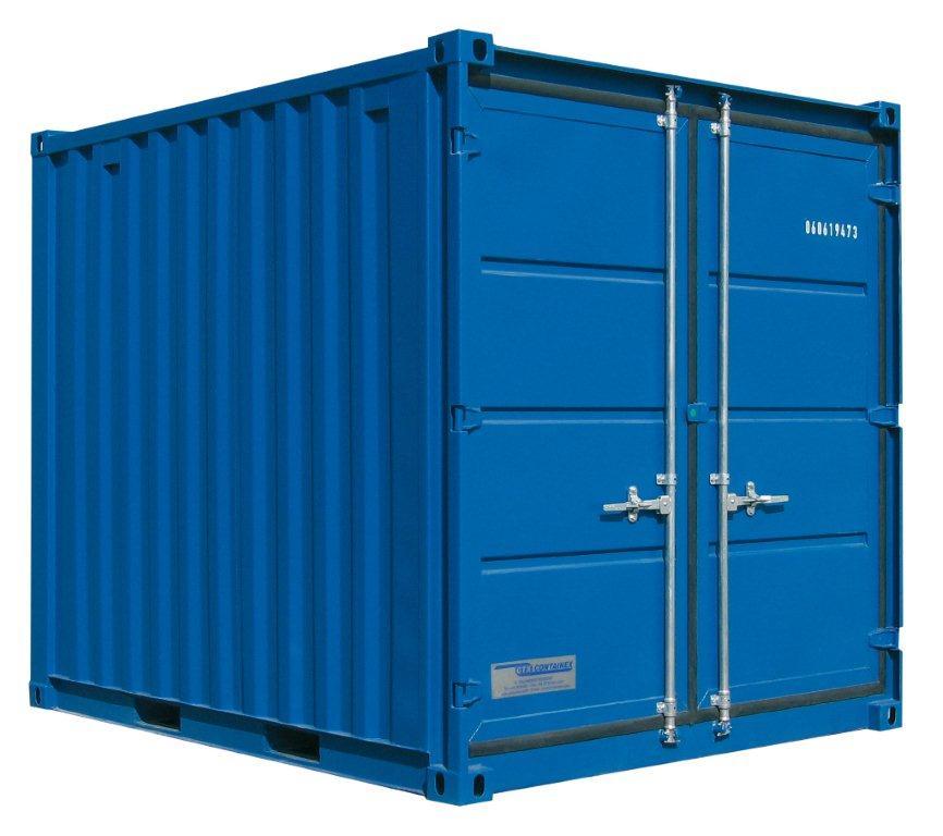 conteneur ou container maritime