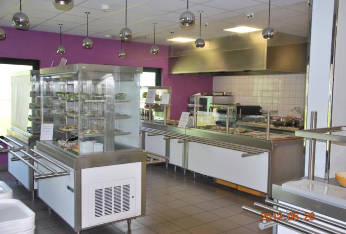 Cuisine restaurant d'entreprise modulaire