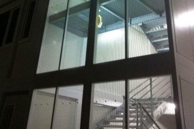 Cage d'escaliers modules Jussieu