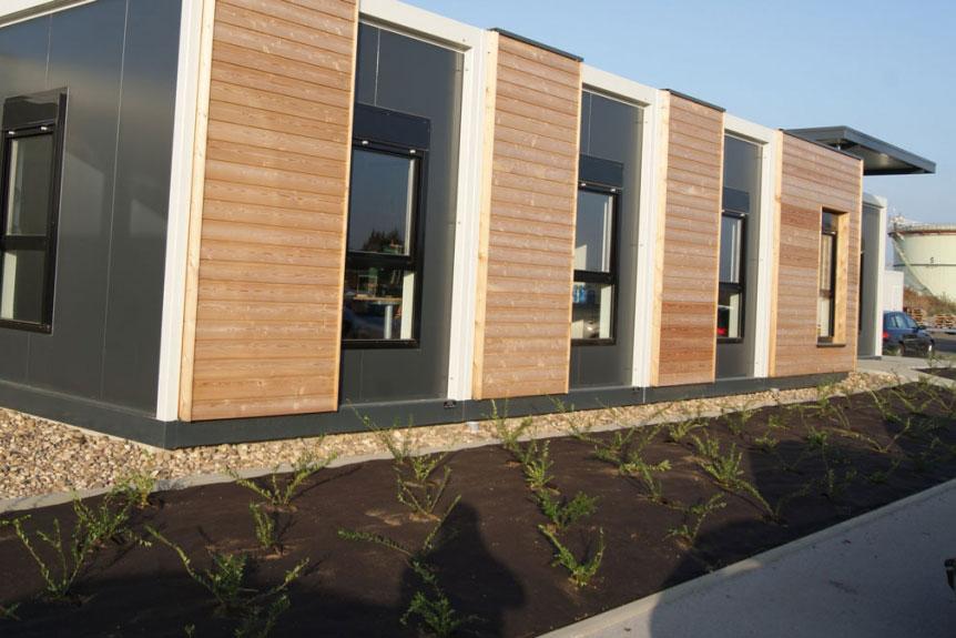 Extension de bureaux en modulaire