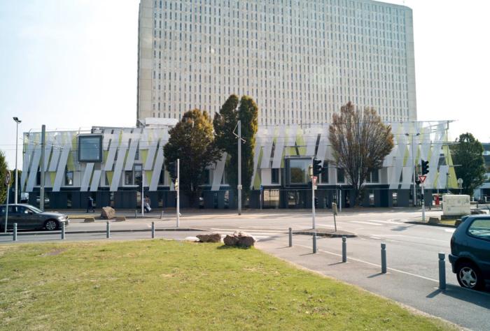 Extension du CHU de Caen en modulaire pour la création de vestiaires