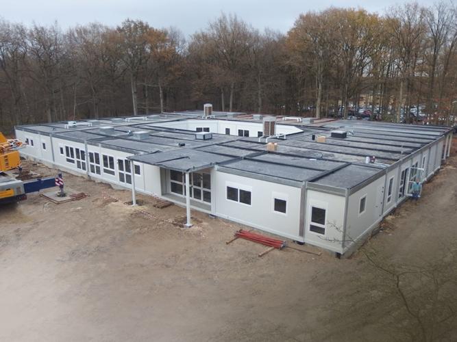 Construction du centre aéré de Rambouillet : procédé RBT