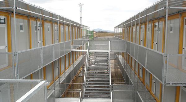 avantages des modules RBS : rapidité d'exécution pour une base-vie chantier