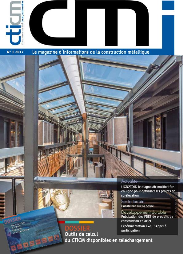 N°1 du magazine CMI dédié à la construction métallique