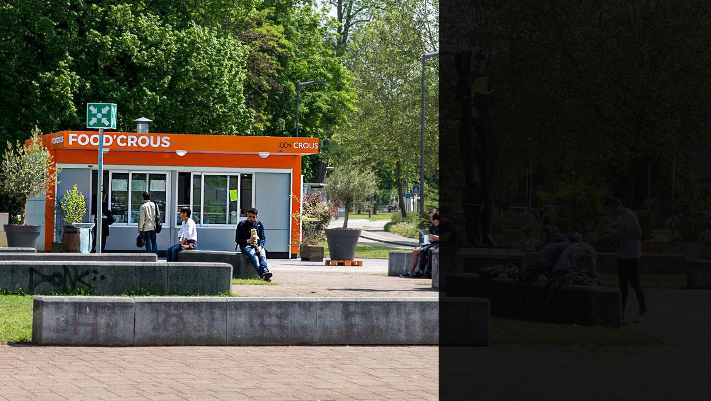 Food CROUS à l'université de Metz